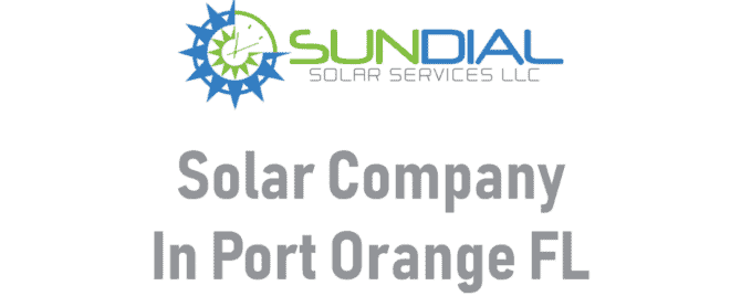 Solar Company Port Orange FL.